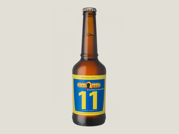 bier paul 11 - Swiss Golden Ale